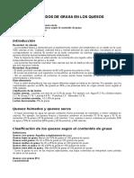 CONTENIDOS DE GRASA EN LOS QUESOS .docx