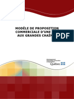 Modele Proposition