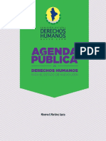 Propuesta AgendadeDerechosHumanos CEDH 2015
