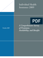 AHIP Comprehensive Survey of Premiums,  Availability, and Benefits
