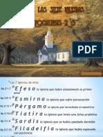 Mensaje a Las 7 Iglesias en Nuestras Vidas