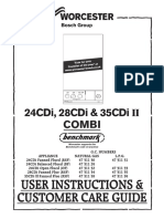 Worcester 24 28 35MkII CDi Operating Instructions