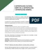 1. Antropologia General