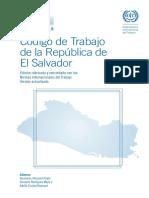 Codigo de Trabajo de la República de El Salvador, edición 2010