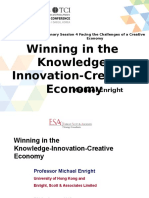 Winning in the Knowledge-Innovation-Creative Economy