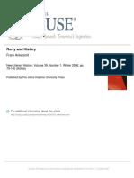 Rorty y La Filosofía de La Historia