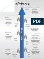 Timeline Desarrollo Profesional