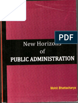 books on public administration free download