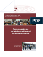 Normas Academicas de La UNAH 2014