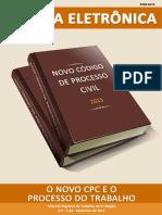 Revista Eletrônica (SET 2015 - Nº 44 - O Novo CPC e o Processo Do Trabalho)