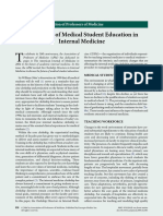 The Future of Medical Student Education In