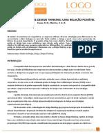 Artigo 03 - Gestão do Design Thinking