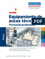 Catalogo equipo aulas tecnicas