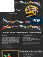 math unit plan