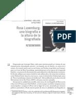 Reseña de la biografía de Rosa Luxemburgo