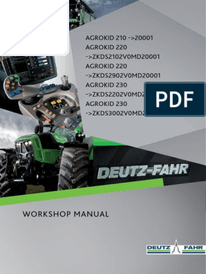 deutz fahr agrotron serie 5 | Transmission (Mechanics) | Internal