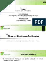 #02 - Manutenção - Sistema Binário e Gabinetes