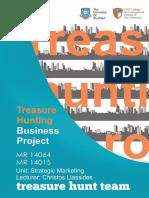 Strategic Marketing - Treasure Hunt Project