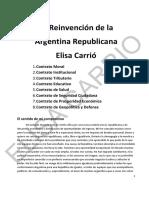 La Reinvención de la Argentina Republicana