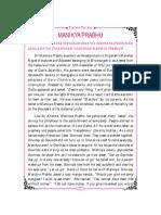 Manikya Prabhu