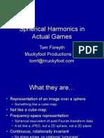 Spherical Harmonics GDCE
