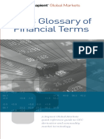 Glossary 2013 of Finance