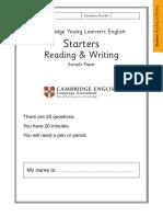 Cambridge Starters Test