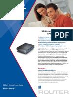 Modem Brochure ADSL2