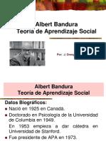 Albert Bandura Teoria de Aprendizaje Social