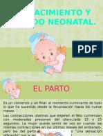 Nacimiento y Periodo Neonatal
