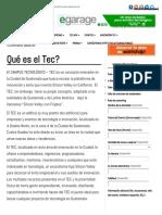 Qué Es El Tec_ _ Campus Tec