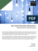 Buy-Side Business Attribution_TABB Version