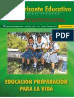 Revista Institucional Horizonte Educativo Ugel San Miguel 2015