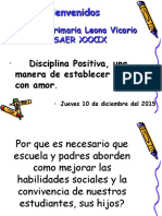 Presentacion Disciplina Positiva Padres