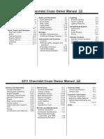 Manual de Cruze 2011
