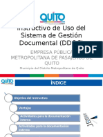 PRESENTACIÓN INSTRUCTIVO DE USO DEL SISTEMA DEGESTIÓN DOCUMENTAL (GDOC).ppt