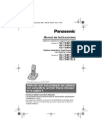 092056 Telef.inal.Panasonic Kxtg4063 Manual