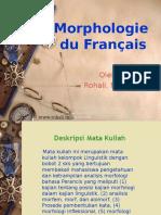 Morphologie Du Français-bab1