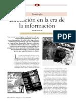 Lec 1.8 La Educacion en La Era de La Informacion