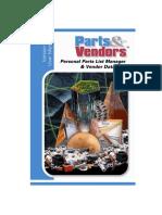 Parts & Vendors Manual
