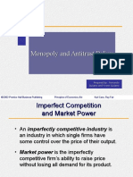 Ch12 Monopoly and Antitrust Policy