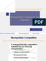 Ch13 Monopolistic Competition and Oligopoly