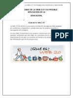 Aplicaciones de La Web 2