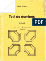 Manual Test de Dominós