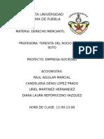 Acta Constitutiva Corregida