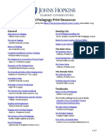 Vocal Pedagogy Resources