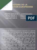 l'Histoire de La Constitution Européenne