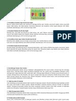 14 Indikator dan Definisi Operasional PHBS di Tatanan Sekolah.docx