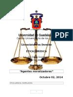Ética Jurídica Elhi Diana Octubre 2 2014