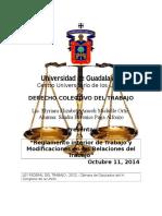 Derecho Colectivo de Trabajo Michel 12 de Octubre 2014